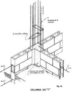 muros de contencion en mamposteria estructural - Buscar con Google