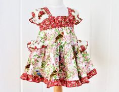"""DOLL CLOTHES AMERICAN GIRL 18/"""" PANT SET PINK BIG FLOWERS"""