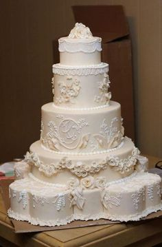 Huge Wedding Cakes, Floral Wedding Cakes, Amazing Wedding Cakes, Fall Wedding Cakes, Wedding Cake Rustic, Elegant Wedding Cakes, Wedding Cake Designs, Wedding Cupcakes, Wedding Cake Toppers