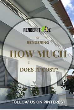 Ever wondered how much it would really cost to render your house? Home Values, Finding Yourself, House, Home, Homes, Houses