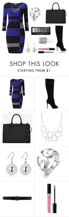 """Glam Squad"" by flybeyondtheskies ❤ liked on Polyvore featuring Phase Eight, Gianvito Rossi, Yves Saint Laurent, BERRICLE, Ann Demeulemeester and Christian Dior"
