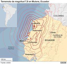 Cómo quedó Manta, el principal puerto de Ecuador, tras el devastador terremoto de 7,8 grados - BBC Mundo