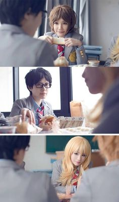 Your lie in april~ Cosplay