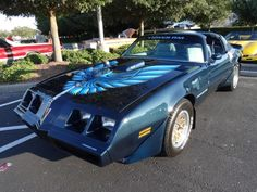 Blue Bird 1979 Firebird Trans Am