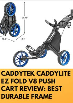 The great EZ fold V8 cart is made from the great-quality also strong elements. That gave us to benefit also pushing was effortless. If you need some essential information about a push cart. This CaddyTek Caddylite EZ fold V8 Push Cart Review can help you nicely. Golf Push Cart, Frame, Strong, Golfers, Benefit, Picture Frame, Frames, Hoop, Picture Frames