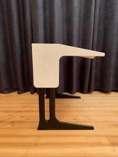 Biurko, proj. L. Colani, Flötotto, Niemcy, 1969 r. - yestersen Colani, Stool, Chair, Luigi, Furniture, Home Decor, Homemade Home Decor, Stools, Home Furnishings