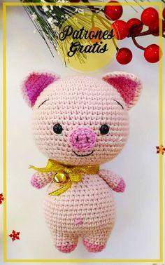 Hello Kitty, Mini, Diabetes, Amy, Character, Ideas, Crochet Pig, Pineapple Crochet, Crochet Animal Amigurumi
