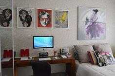 escritorio, quarto de visita