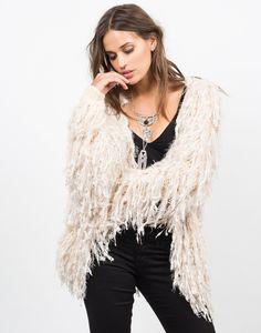 Shaggy Fur Jacket - Faux Fur Jacket - Fur Coat – Outerwear – 2020AVE