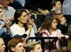 Suri Cruise Is Katie Holmes' Mini-Me at NCAA Tournament Game   E! Online Mobile