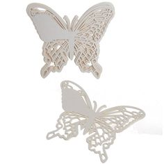 Amazon.com: Kuke 50pcs Butterfly Laser Cut Wedding Party Name Setting Place Cards Wine Glass Cards (Pink): Office Products
