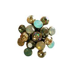 Konplott Magic Fireball Ring grün