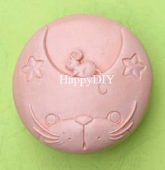 Cat With Mouse Silicone Mold/Mould For Handmade Soap by HappyDIY, $9.99 Soaps, Silicone Molds, Cat, Unique Jewelry, Handmade Gifts, Etsy, Vintage, Hand Soaps, Kid Craft Gifts