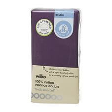 Wilko Valance Purple Double