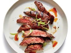 Grilled Flash-Marinated Skirt Steak | In this simple skirt steak recipe, we're using balsamic vinegar, garlic, and soy sauce to deliver a flavor punch. | Cooking Light