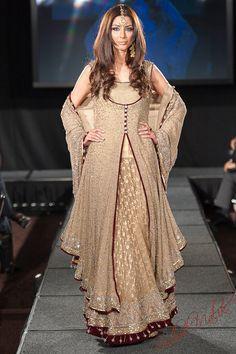 Pakistan Fashion Extravaganza London 2011 Part 1 - South Asian Bride Magazine :South Asian Bride Magazine Pakistani Couture, Pakistani Wedding Dresses, Pakistani Outfits, Indian Outfits, Fashion Designer, Indian Designer Wear, Designer Dresses, Casual Indian Fashion, Indian Fashion Dresses