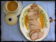 El Puchero de Morguix: Lomo de cerdo en salsa de naranja Pork, Meat, Cooking, Diabetes, Beef, Pork Loin, Salads, Recipes For Diabetics, Favorite Recipes