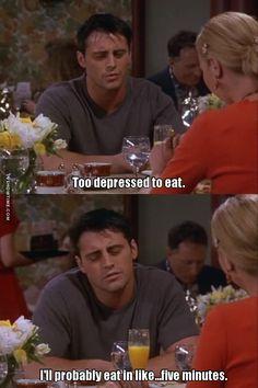I love Joey! I love Joey! Friends Moments, Friends Series, Friends Tv Show, Friends Forever, Joey Tribbiani, Friend Memes, Best Shows Ever, Best Tv, Favorite Tv Shows
