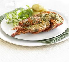 Recipe:Lobster with Thermidor butter