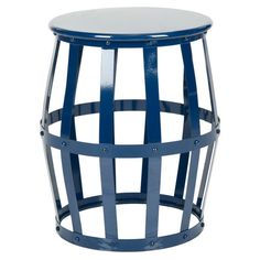 Rinaldo Stool in Navy at Joss & Main