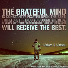 Wallace D. Wattles quote