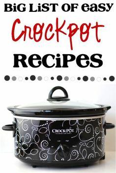 Easy Crocpot Recipes button