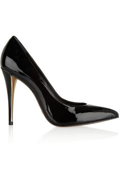 Saulo patent-leather pumps