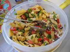 Penne Pasta Salad. Great for picnics. I love this recipes. Yummy!