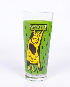 Vintage Ritzenhoff Glass Cows milk glasses by LeVintageGalleria, $12.00