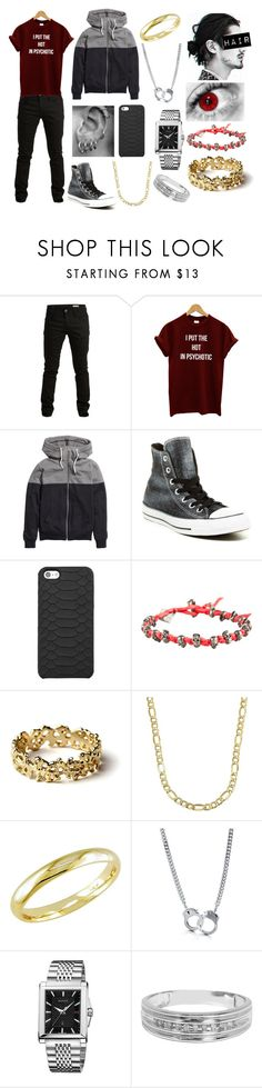 """Lucas Rune #1"" by nerissa-kirkland ❤ liked on Polyvore featuring SELECTED, H&M, Converse, B. Ella, GiGi New York, M. Cohen, Arosha Luigi Taglia, Lord & Taylor, Ice and BERRICLE"