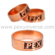 The Sioux Chief Inch Pex Crimp Rings Are Pure Annealed Copper That Securely Ens Ings To Pipe Use With