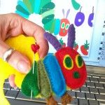 Very Hungry Caterpillar Felt Board