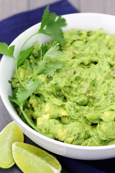 My favorite! Perfect Guacamole Recipe.
