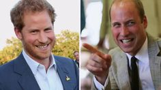 Prince William's hilarious reaction as mum asks for Harry's number