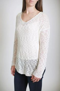 Starting to Snow Sweater $73