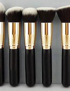 Pro MakeUp cosmetische set Oogschaduw Foundation Wood Brush ... – EUR € 9.99