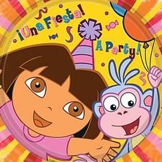 21 Best Dora Explorer Party Theme images in 2014 | Dora the explorer
