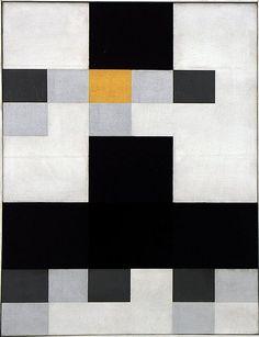 Jean Arp. Collage, 1918.