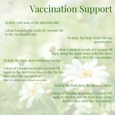 doterra essential oils vaccination support lemon lavender cilantro
