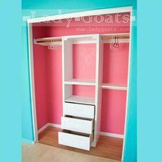 Closet Tower DIY