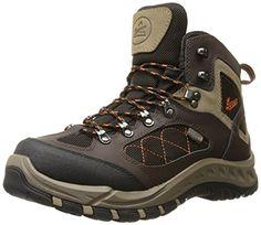 Danner Men's TrailTrek Hiking Boot, Brown/Orange, 11 2E US