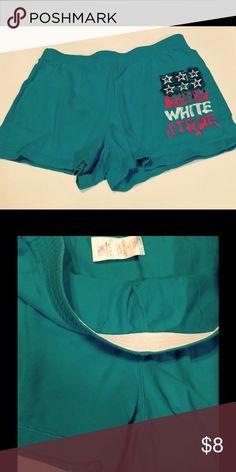 "Women's ""Faded Glory"" Shorts Large(10-12) 100% Cotton Faded Glory Shorts Bermudas"