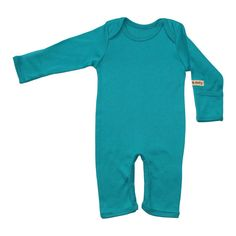 Organic Baby Clothes - Baby Romper - Black, Blue, Natural and Pink on Etsy, $21.76