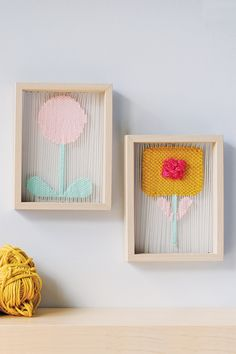 Create Kristin Carter's cleverly woven floral triptych.