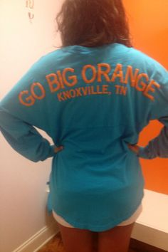 University of Tennessee Knoxville  maybe in orange and white writing instead of teal and orange