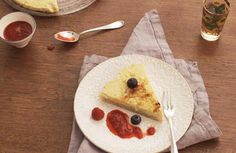 Russicher Cheesecake...fettarm used items: Navigenio #AMCRezept #AMCrecettes