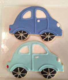 VW Beetle cookies!