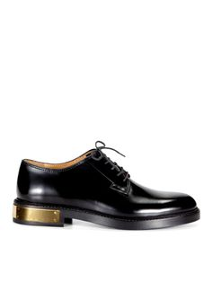 Marc Jacobs Gold Plate Lace-Ups