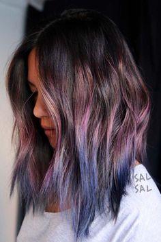Pretty Purple Ombre Hair picture 6