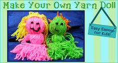 Great Ideas for Using Yarn to Keep Your Kids Busy Over Break!